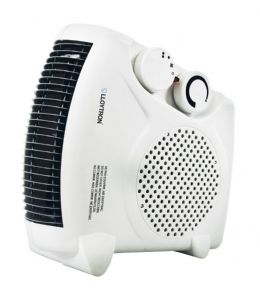 Lloytron 2kw BEAB Portable Electric Fan Heater with Cool Blow and Heat Settings